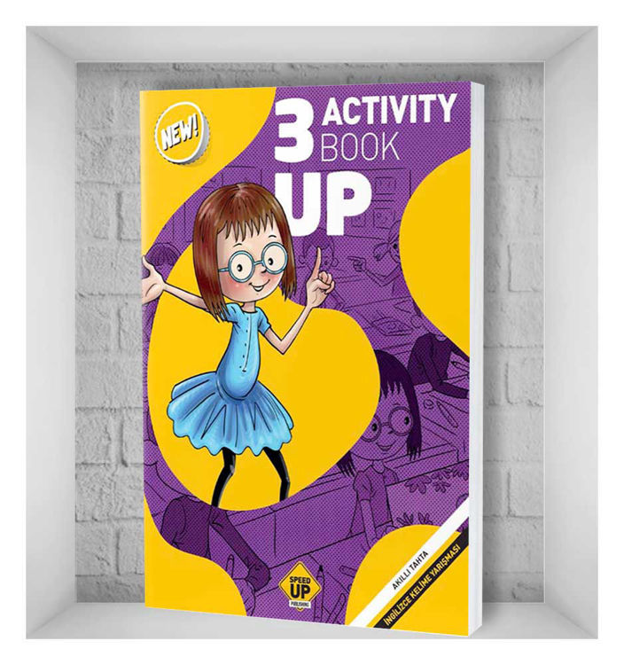 Speed Up Publishing Activity Book Up 3. Sınıf resmi